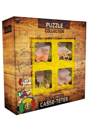 3D Expert Wooden Puzzles Colection