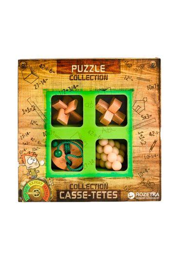 3D Junior Wooden Puzzles Colection