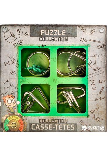 3D Junior Metal Puzzles Colection