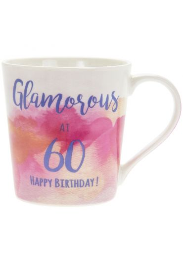 Cana portelan Glamorous at 60 Happy Birthday
