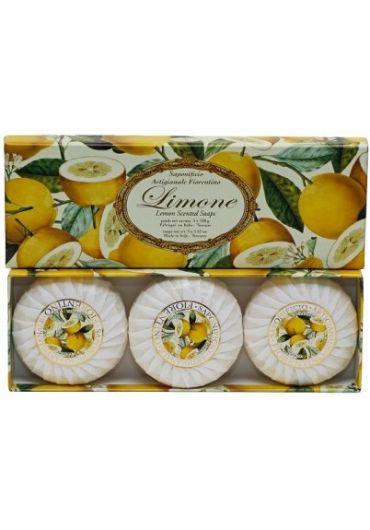 Sapun natural Saponificio Lemon (3 buc)