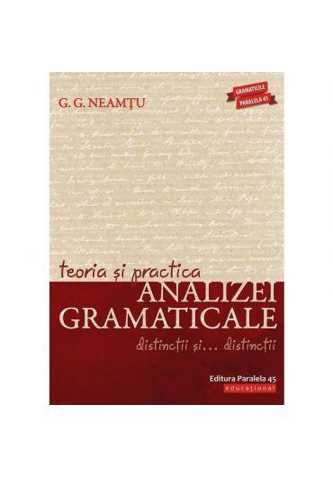 Teoria si practica analizei gramaticale editia a 5-a