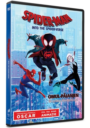 Spider-Man: Into the Spider-Verse/Omul-Paianjen: In lumea paianjenului DVD
