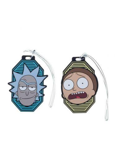Set 2 brelocuri Bagaj Rick and Morty