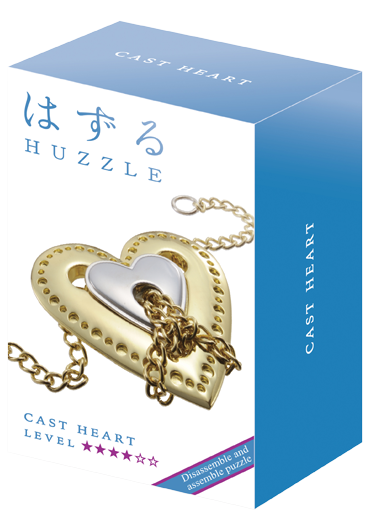 Huzzle Cast Heart Level 4