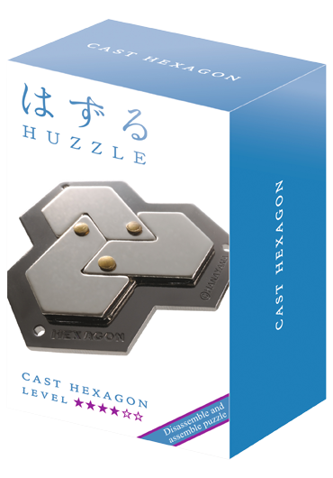Huzzle Cast Hexagon Level 4