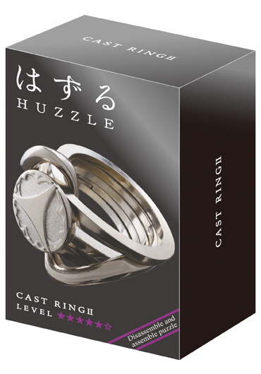 Huzzle Cast Ring II Level 5