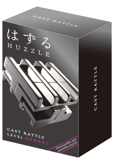 Huzzle Cast Rattle Level 5