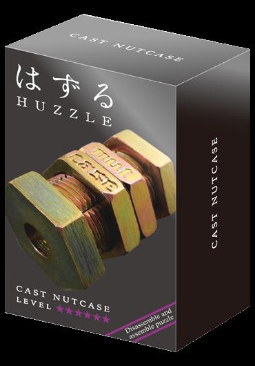 Huzzle Cast Nutcase Level 6