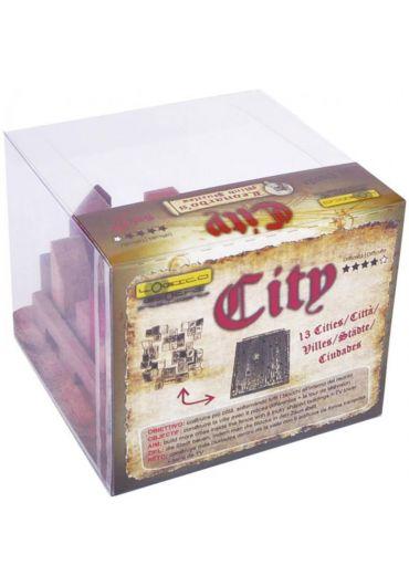 Puzzle din lemn City