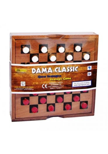 Joc Dame clasic din lemn
