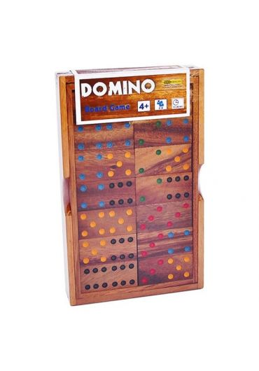 Joc Domino clasic din lemn