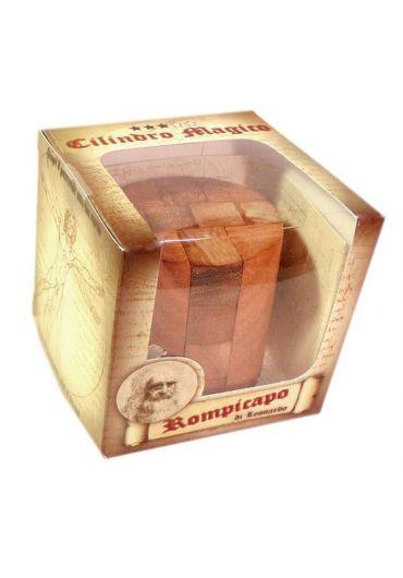 Puzzle din lemn Magic Cylinder - Leonardo da Vinci