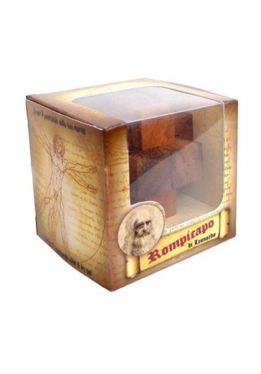 Puzzle din lemn Mini Imprisoned Ball - Leonardo da Vinci