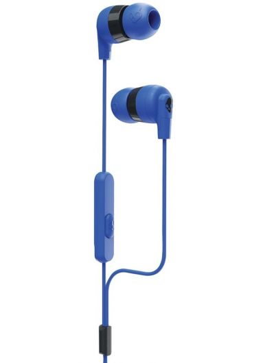 Casti Ink'd+ In-Ear Earbuds with Microphone - Cobalt Blue