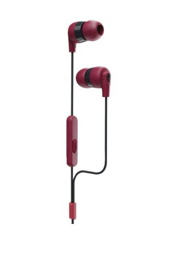 Casti Ink'd+ In-Ear Earbuds with Microphone - Moab Red/Black
