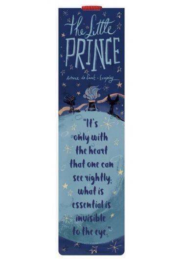 Semn de carte cu elastic - The little prince