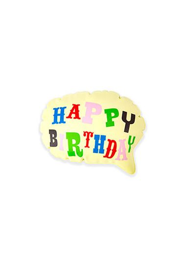 Balon - Happy Birthday pop up balloon