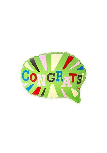 Balon - Congrates pop up balloon