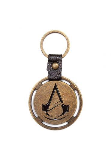 Breloc metal Assassin's Creed Unity ruginit