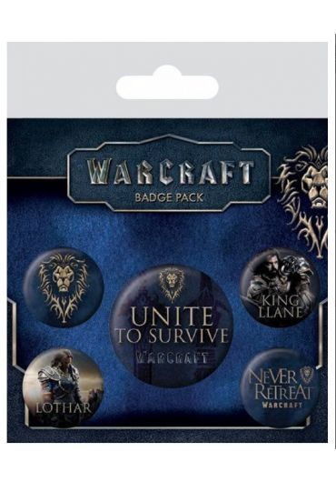 Set 5 insigne Warcraft