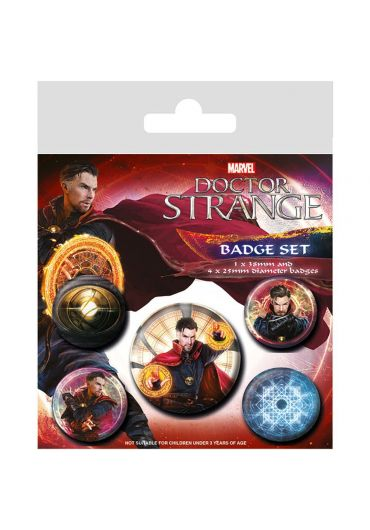 Set 5 insigne Doctor Strange