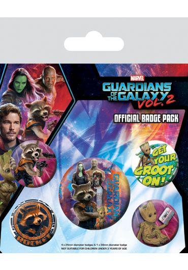 Set 5 insigne Guardians Vol. 2