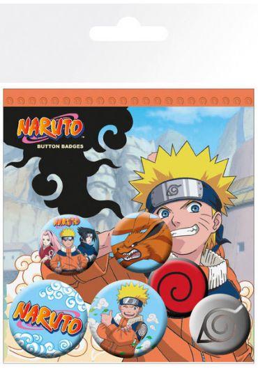 Set 5 insigne Naruto