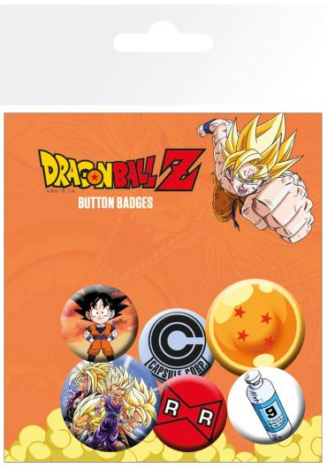 Set 5 insigne Dragon Ball Z