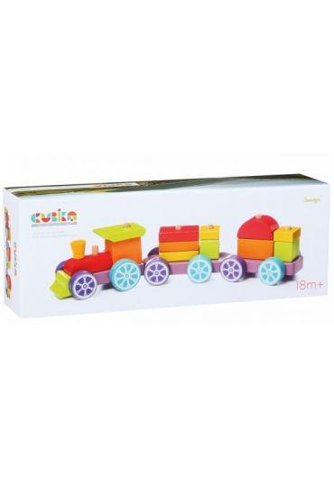Jucarie Din Lemn, Cubika, Trenulet
