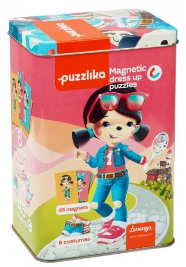 Puzzle Magnetic, Cubika, Alege Imbracamintea Potrivita