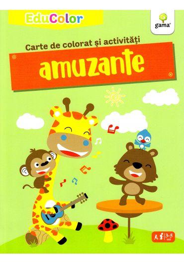 Carte de colorat si activitati amuzante
