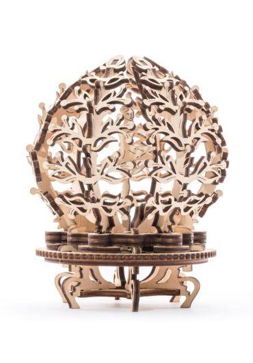 Puzzle 3D lemn - Floare mecanica