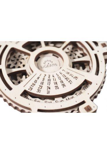 Puzzle 3D lemn - Calendar mecanic