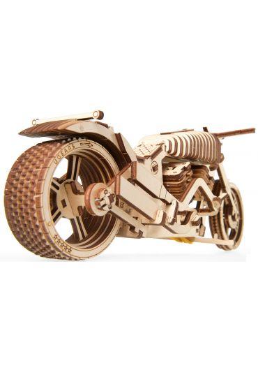Puzzle 3D lemn - Motocicleta VM-02