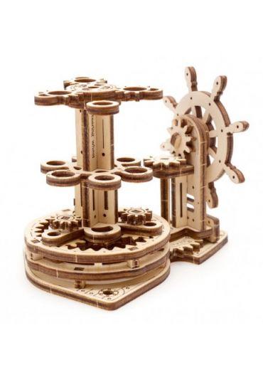 Puzzle 3D lemn - Organizator pentru birou