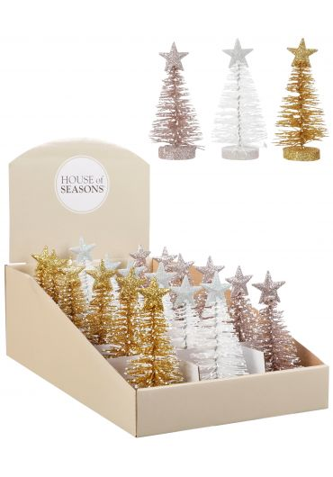 Decoratiune Xmas - Tree gold white champagne