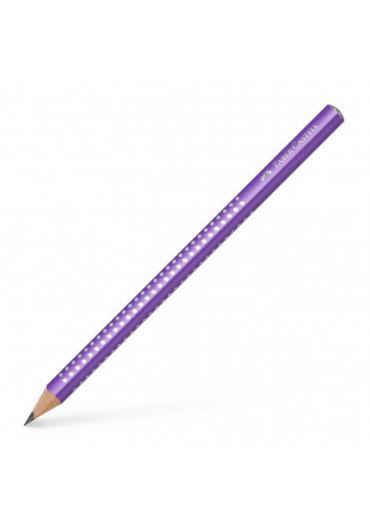 Creion grafit  B Sparkle Jumbo violet