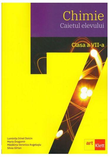 Caietul elevului. Chimie clasa a VII- a