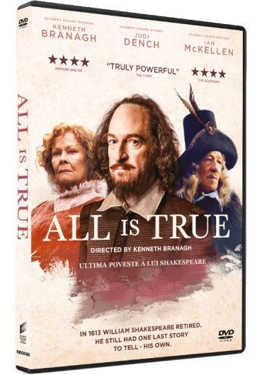 All is True/Ultima poveste a lui Shakespeare DVD