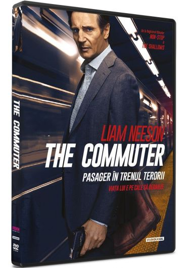 The Commuter/Pasager in trenul terorii DVD