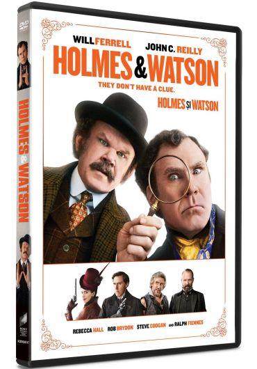 Holmes and Watson/Holmes si Watson DVD