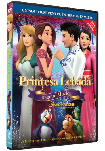 Printesa Lebada 8: Regatul Muzicii/The Swan Princess: Kingdom of Music DVD