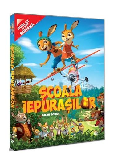 Scoala Iepurasilor/Rabbit School DVD