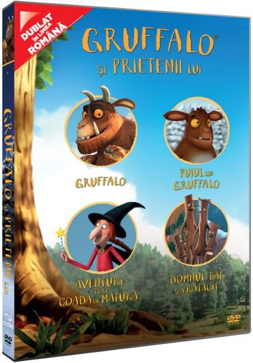 Gruffalo si prietenii lui/Gruffalo and His Friends DVD