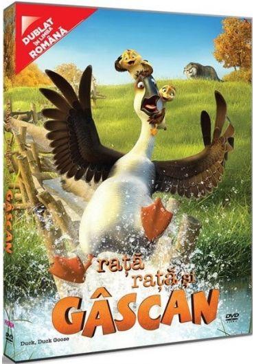 Rata, rata si gascan/Duck, Duck Goose DVD