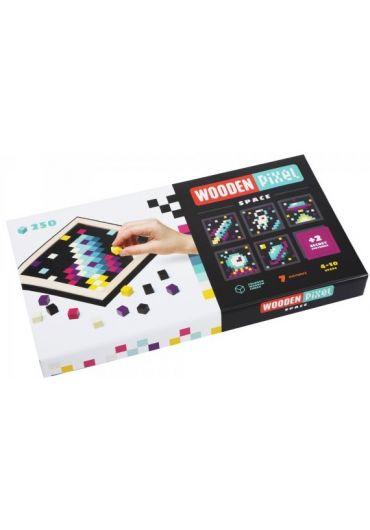 Joc din lemn Cubika, Mozaic - Pixel Space