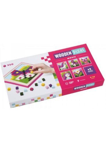 Joc din lemn Cubika, Mozaic - Pixel Magic