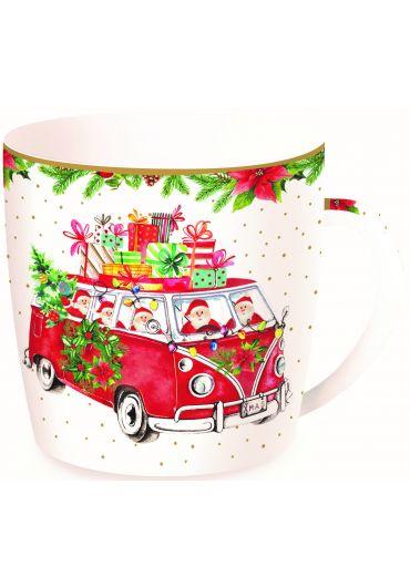 Cana portelan - Driving Santa