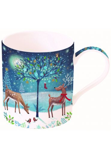 Cana portelan - With love at Christmas Deers